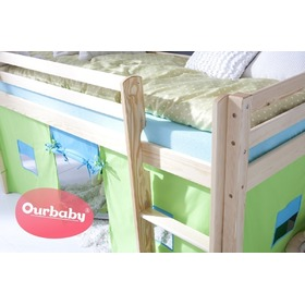 Ourbaby Modo Children's Mid Sleeper Bed, Ourbaby