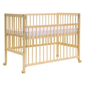 Scarlett Dominic Baby Cot – Natural