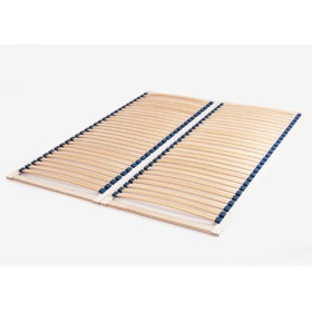Beech lamella bed base - Solid, Litdrew