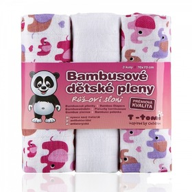 Bamboo Muslins with Pattern, T-Tomi