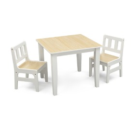 Natural Children's Table with Chairs