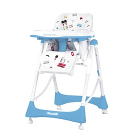 CHIPOLINO Modesto High Chair - Baby Blue, CHIPOLINO LTD.