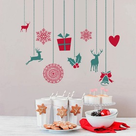 Christmas decoration to wall - Christmas trappings II, Housedecor