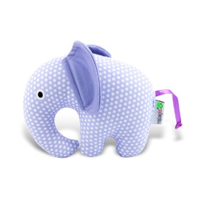 Fabric toy - Violet Spotted slonik