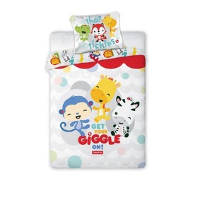 Fisher Price - Happy Zoo Children's Bedding Set, Faro