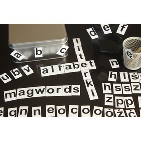 Magnetic alphabet - small letters, MagWord