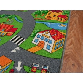 LITTLE VILLAGE Children's Rug, F.H.Kabis