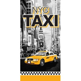 Taxi NYC Children's Beach Towel