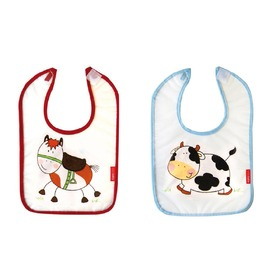 Children bib different role models, Bobas