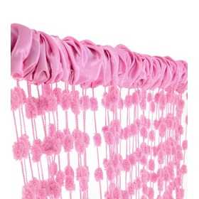 Baby Ball Children's Curtains - Pink, Podlasiak