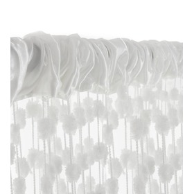 Baby Ball Children's Curtains - White, Podlasiak