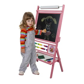Children magnetic board pink, 3Toys.com