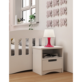 Childlike night table Classic - white, All Meble