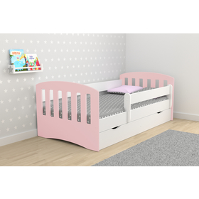 Bed classic for children - powder pink, All Meble
