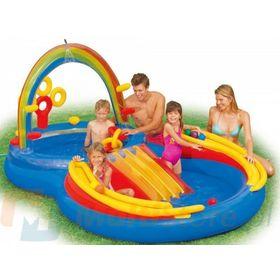 Childlike inflatable swimming pool Rainbow, EcoToys