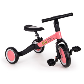 Children's tricycle Vario 4in1 - pink, EcoToys