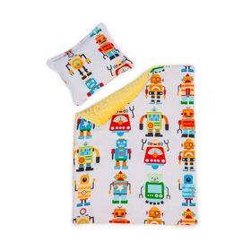 Baby blanket and pillow L Robots, Dreamland
