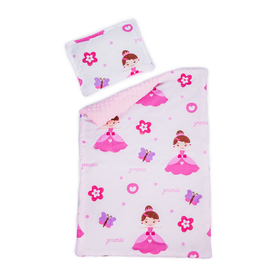 Baby blanket and pillow L Princess, Dreamland