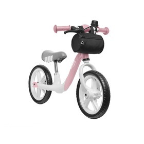 Children's odrazedlo LIONELO Aria with small brake - pink-gray, Lionelo