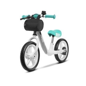 Children's odrazedlo LIONELO Aria with small brake - gray-green, Lionelo