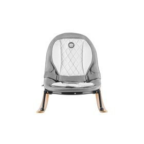 Children's lounger LIONELO - gray-black, Lionelo
