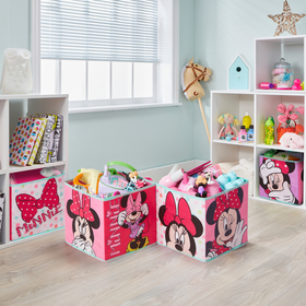 four storage boxes - Minnie Mouse, Moose Toys Ltd , Minnie Mouse