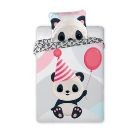 Panda baby bedding and balloon, Faro