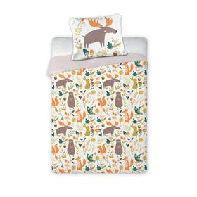 Children's bed linen Forest animals, Faro