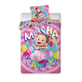 Children's bed linen Masha and bear, Faro, Masha and The Bear