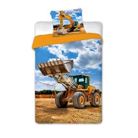 Children's bed linen Excavators, Faro