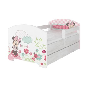 Baby bed se behind the gate - Minnie Mouse - decor norwegian pine, BabyBoo, Minnie Mouse