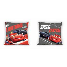 Coating on pillow 40x40 Cars - lightning McQueen and Jackson Thunder, Faro, Cars