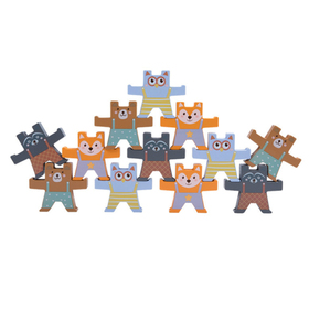 Wooden balance game - animals, Ourbaby