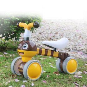 Baby bouncer Bee - yellow-brown, EcoToys