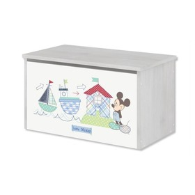 Wooden chest for Disney toys - Mickey Mouse