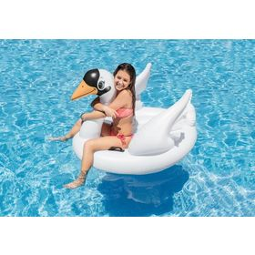 Inflatable lounger Swan, EcoToys