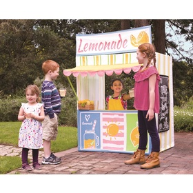 Childlike players house Stand with lemonade, Indie