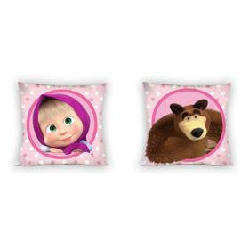 Coating on pillow 40x40 cm Masha and bear, Faro, Masha and The Bear
