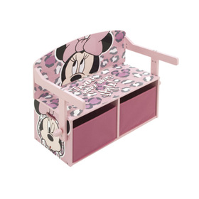 Baby bench with storage space - Minnie Mouse, Arditex, Minnie Mouse