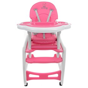 Baby dining chair Kinder - pink, Multiglob