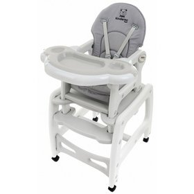 Baby dining chair Kinder - grey, Multiglob