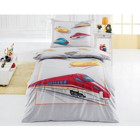 Speed Trains Bedding Set, Matějovský