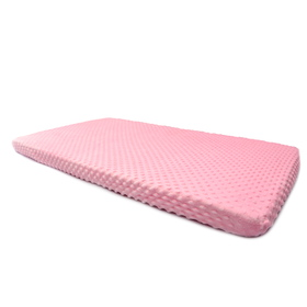 Sheet Ourbaby minky - pink, Dreamland