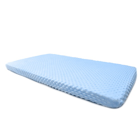 Sheet Ourbaby minky - blue, Dreamland