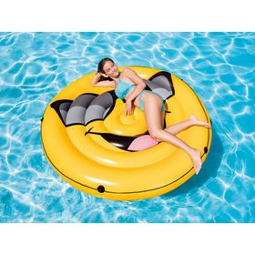 Inflatable lounger Smiley, EcoToys