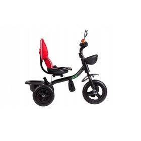 Tricycle Raven with guide bars and rotating seat - red, EcoToys